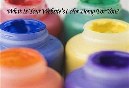 website's color