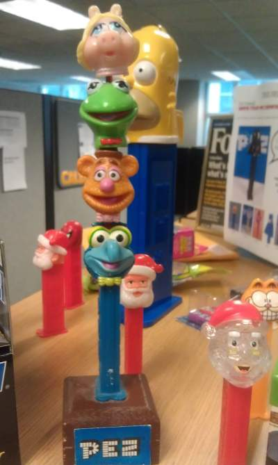 Take your pez to work day