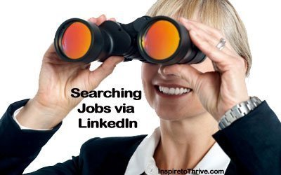 Searching Jobs via LinkedIn