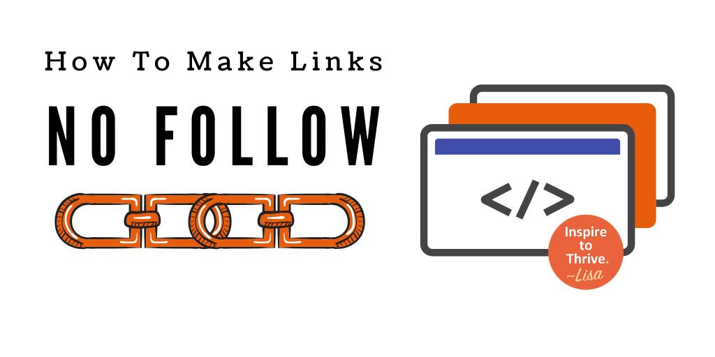 how to make links no follow