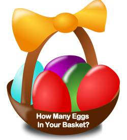 eggs in a basket blog posts