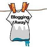 hanging laundry blogging