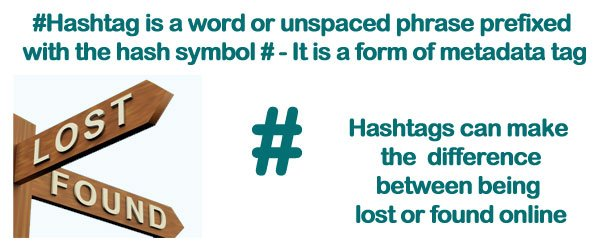 Hashtags today are everywhere learn how to use them to get results how many can you use on the different social networking sites learn how to use them on different social networks and how the seo benefit of them can help fandeluxe Images