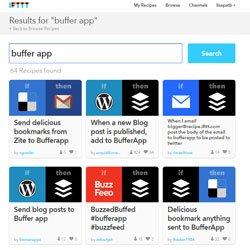buffer IFTTT