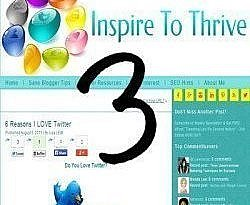 What Do You Need to Inspire You as Inspire to Thrive Turns 3?