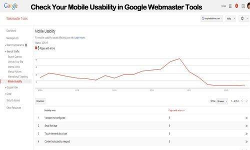 mobile usability