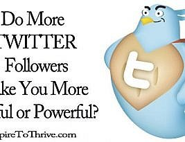 More Twitter Followers – Are More Followers Proven Useful?