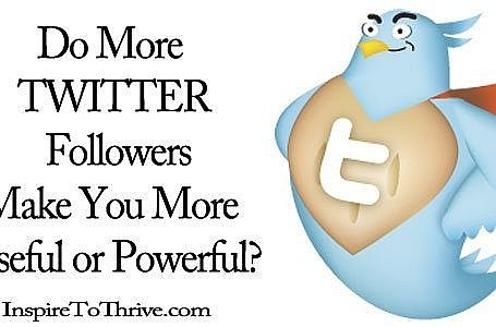 more Twitter followers