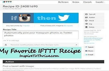 IFTTT #AutomatedLife