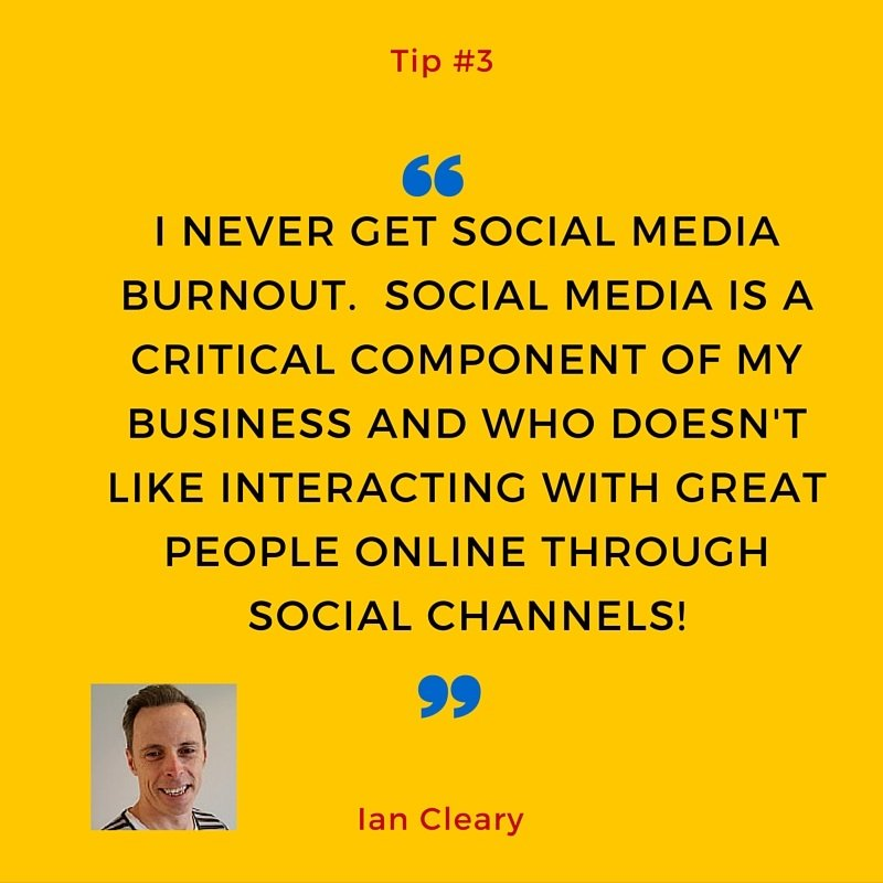 Ian cleary's tip