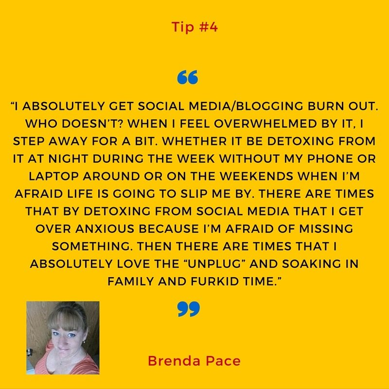 Brenda Pace's tip