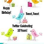 Twitter Celebrating