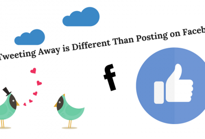 tweeting away