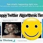 Twitter Algorithmic Timeline