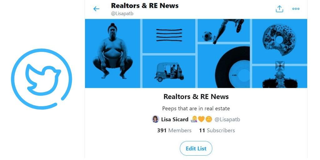 a realtors twitter list