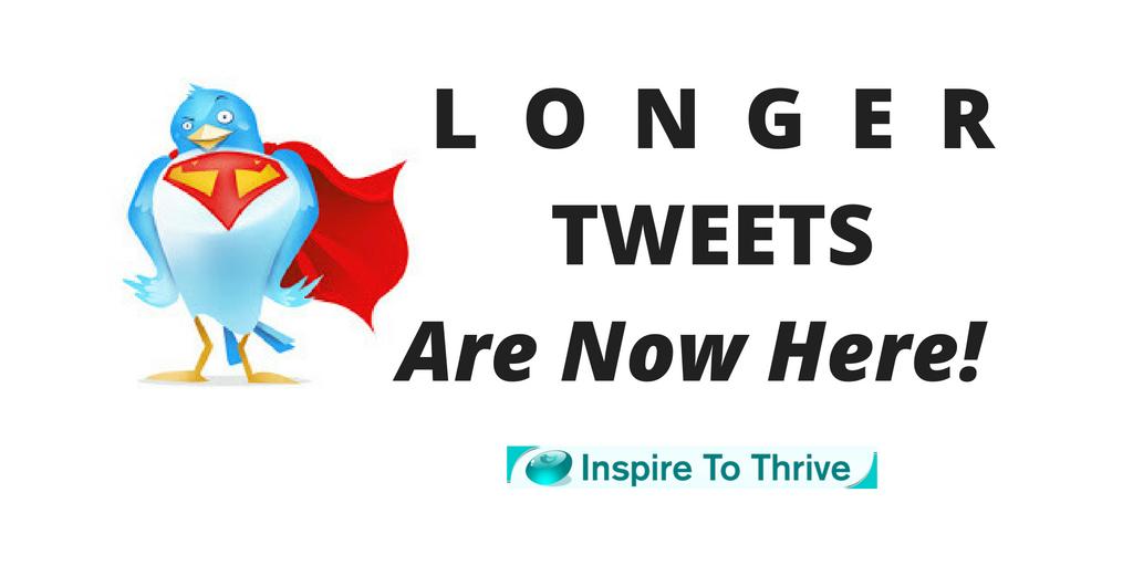Longer Tweets