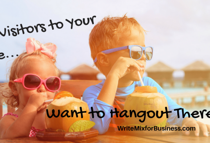 visitors to your blog
