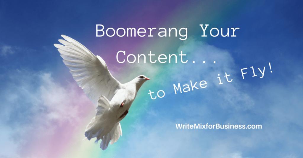 content boomerang