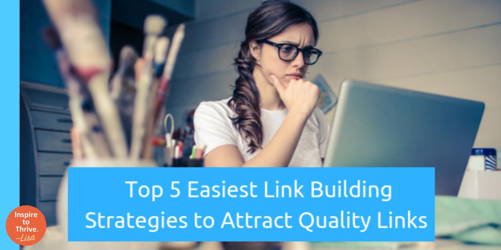 Top 5 Easiest Link Building Strategies