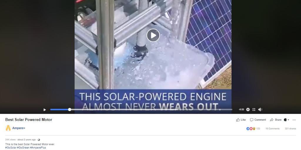 older facebook ad