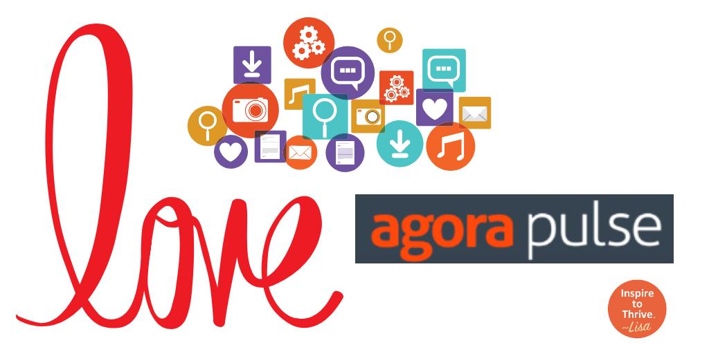 love agorapulse for social media management