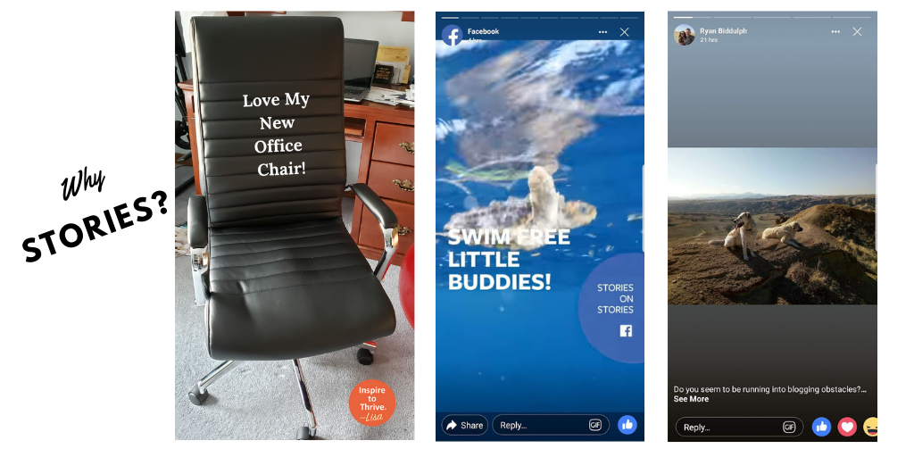 Facebook Stories To Help Grow Your Business Page Organic Reach Now