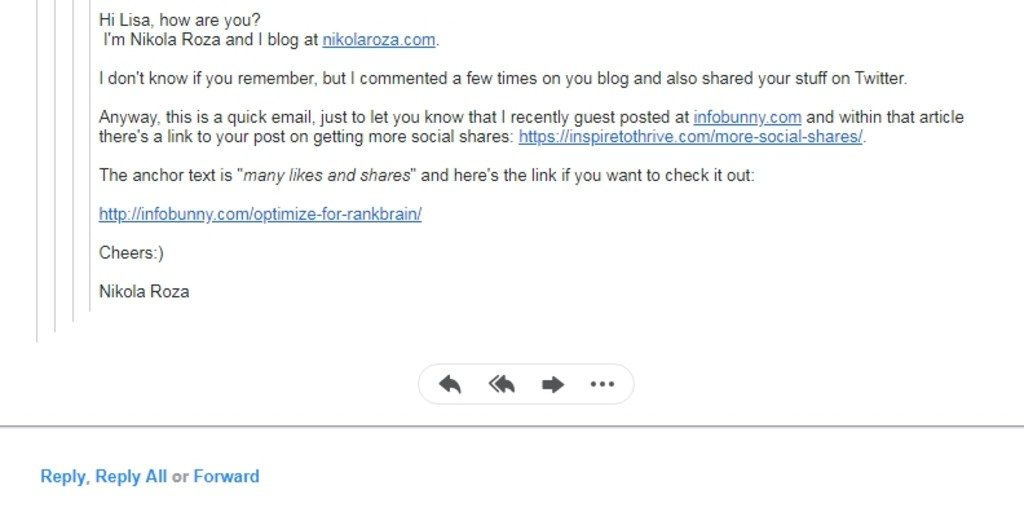 email for SEO post