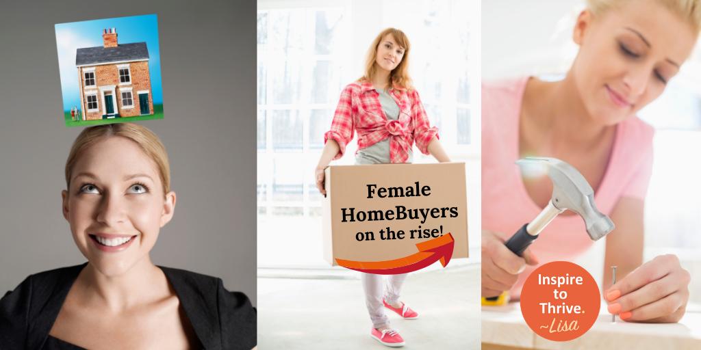 female homebuyers on the rise