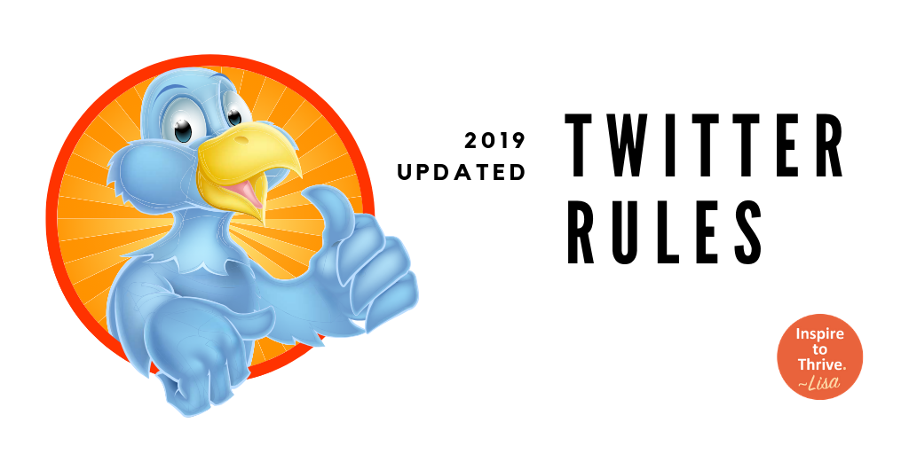 Twitter rules for dummies updated
