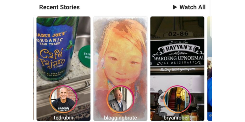 What are Instagram stories?