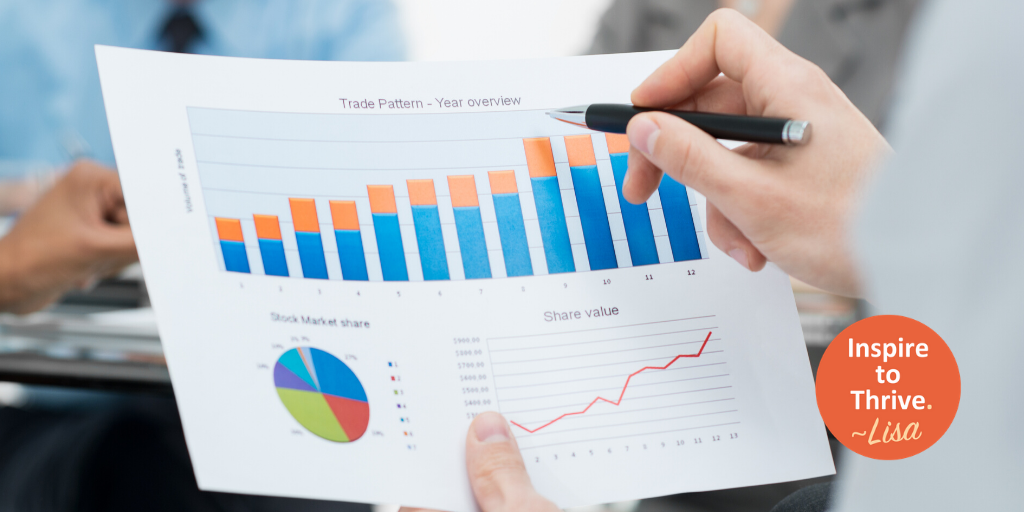 run a successful online business with growth charts