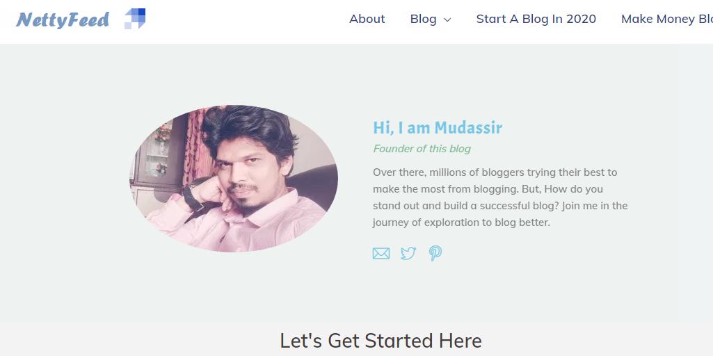 netty feed blogger