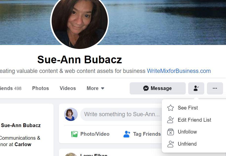 My friend Sue-Ann