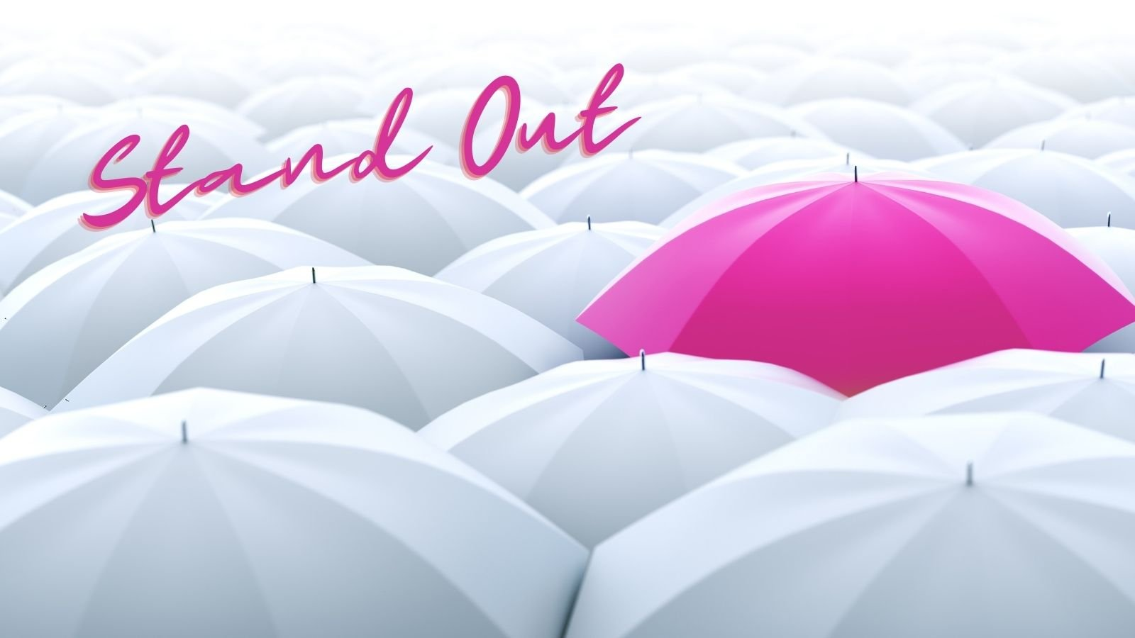 stand out from the crowd in business