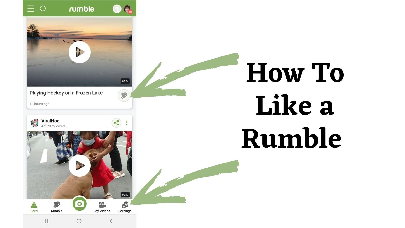 how to like a rumble