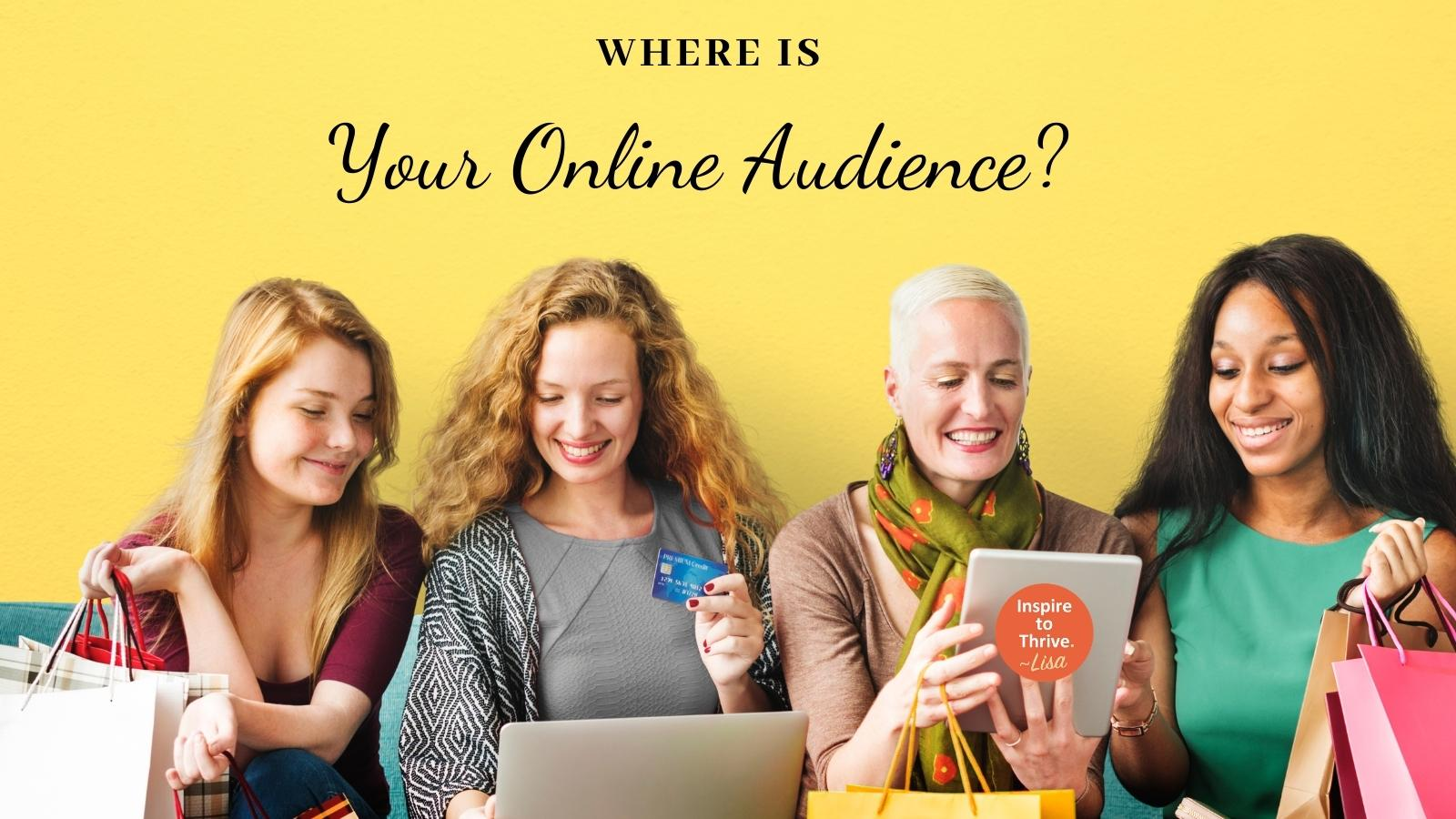 social media for business audience