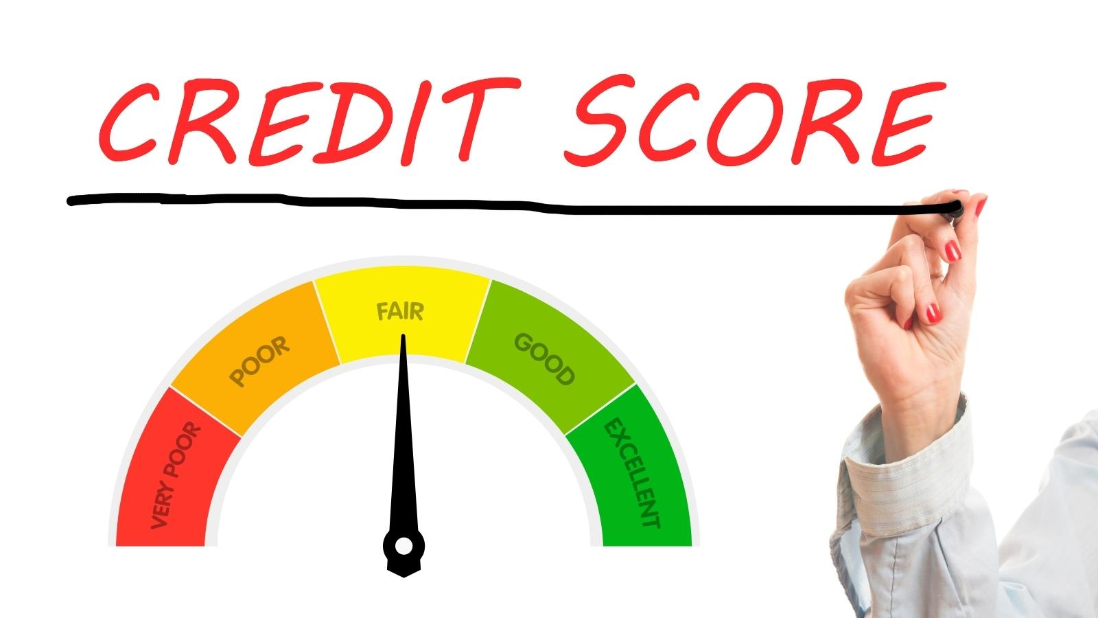 someone's final credit tally